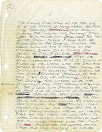 image of Because the Night (Original handwritten manuscript for the 1984 novel)