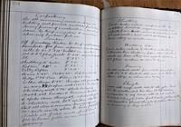 Mechanical Engineer's Account Book