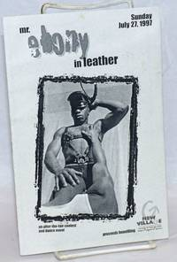 Mr. Ebony in Leather: an after-the-fair contest and dance event, Sunday, June 27, 1997