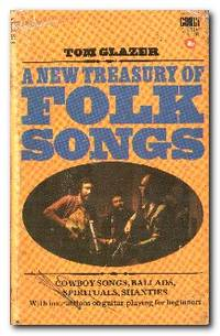A New Treasury Of Folk Songs With an Introduction to Folk-Guitar  Accompaniment for the Beginner