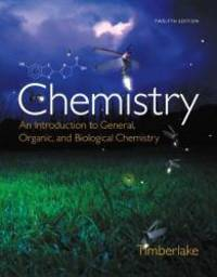 image of Chemistry: An Introduction to General, Organic, and Biological Chemistry Plus MasteringChemistry with eText -- Access Card Package (12th Edition)