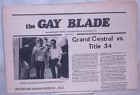 image of The Gay Blade [aka The Blade & Washington Blade] vol. 6, #5, May 8, 1975