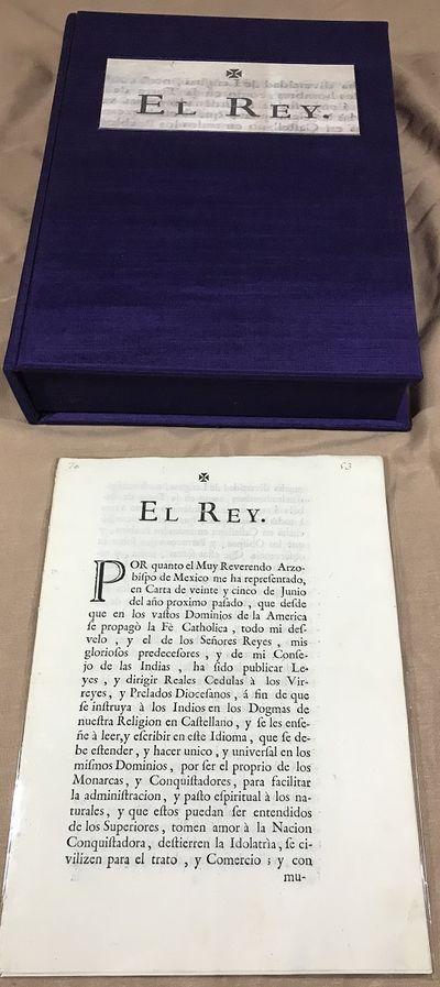 Cedula Real (royal decree) of 1770...