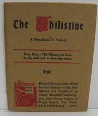 THE PHILISTINE, SEPTEMBER 1908, VOL. 27, NO. 4