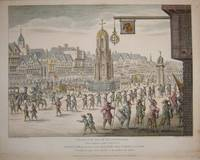 A North East View of Cheapside with the Cross and Conduit by  Robert: Wilkinson - 1809 - from Bryars and Bryars (SKU: 7013)