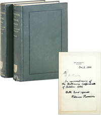 Mathematical and Physical Papers. Volumes 1 & 2 [with signed presentation to A.B. Nixon from William Thomson, dated 1884]