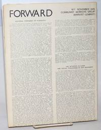 Forward, no. 1, November, 1976 to no. 4, August, 1977 [set of all four issues]