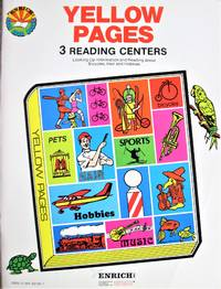 Yellow Pages. 3 Reading Centers-Looking Up Information and Reading About Bicycles, Hair, and Hobbies
