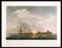 The situation of His Mtys. Ship Blanche, of 32 Guns & 180 Men, & the French Frigate La Pique, of 40 Guns & 400 Men, at a quarter past 5 o'Clock in the Morning, about a quarter of an hour before the Pique surrendered, having been towed in that way near 3 hours and a half, and having made frequent attempts to board the Blanche without success