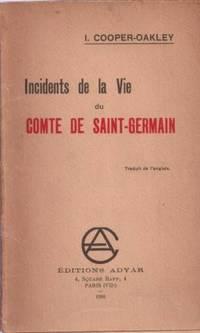 Incidents de la vie du Comte de Saint-Germain