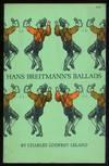 Hans Breitmann\'s Ballads