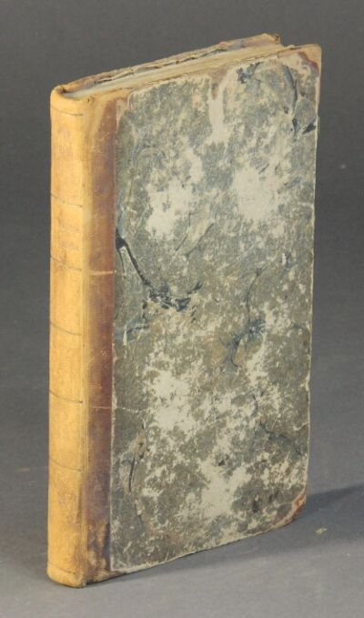 Portsmouth, : printed at the Oracle Office, 1810. First edition, 12mo, pp. xi, , 134-148; bound with...