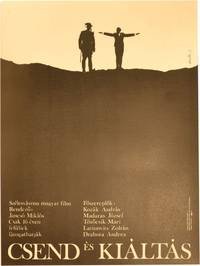 image of Silence and Cry [Csend es kialtas] (Orginal Hungarian poster for the 1968 film)