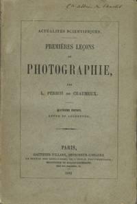 PREMIÈRES LEÇONS DE PHOTOGRAPHIE
