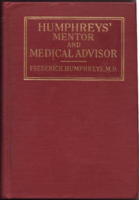 image of HUMPHREYS' MENTOR, Medical Advisor in the Use of Humphreys' Remedies.