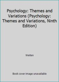 image of Psychology: Themes and Variations (Psychology: Themes and Variations, Ninth Edition)