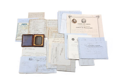 Extensive archive relating to the...