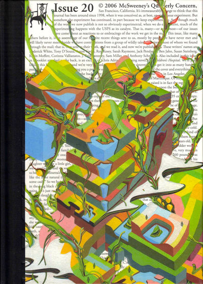 SF: McSweeney's, 2006. Hardcover. Very good. Very good hardback bound in publisher's cloth backed bo...