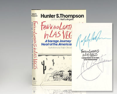 New York: Random House, 1971. First edition of Thompson's second book. Octavo, original half cloth, ...