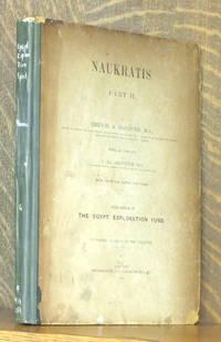 NAUKRATIS PART II SIXTH MEMOIR OF THE EGYPT EXPLORATION FUND
