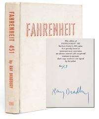 Fahrenheit 451 (Asbestos Binding) by Bradbury, Ray - 1953