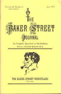 image of THE BAKER STREET JOURNAL ~An Irregular Quarterly Of Sherlockiana ~ June 1976