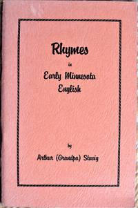 image of Rhymes in Early Minnesota English