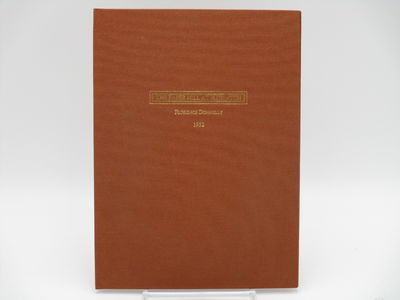 No place. , No date. Limited edition, #80 of 200 copies. . Brown cloth, gilt cover title, no spine t...