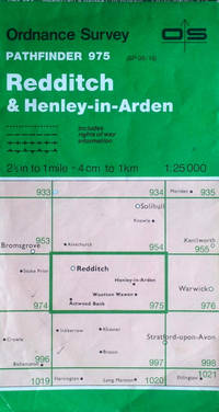Redditch & Henley-in-Arden sheet SP 06/16, scale 1:25,000