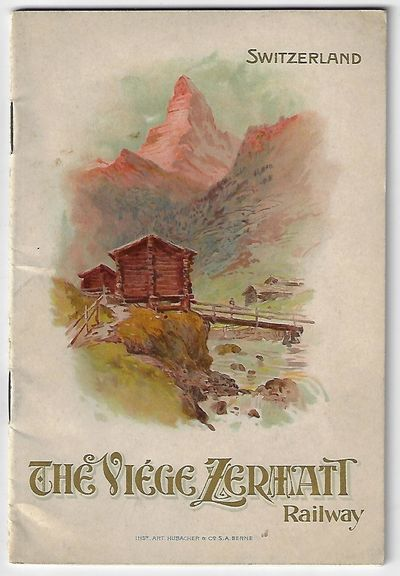 Berne: Inst. Art. Hubacher & Co. Softcover. Very good. Travel brochure/booklet. Undated, ca. 1906. 1...