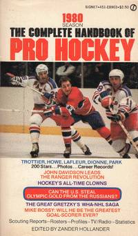 image of The Complete Handbook of Pro Hockey 1980