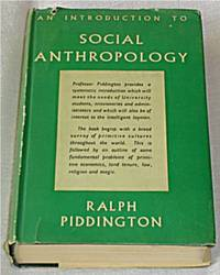 An Introduction to Social Anthropology Vol 1