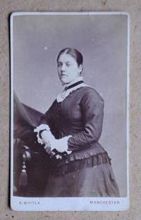 Carte De Visite Photograph: Portrait of a Young Woman.