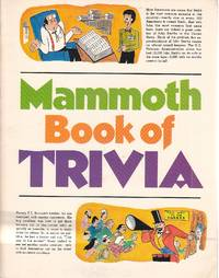 image of Mammoth Book of Trivia