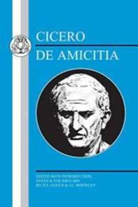 image of Cicero: De Amicitia (Latin Texts)
