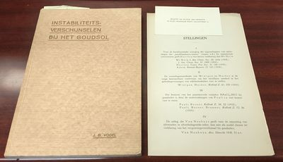Utrecht. First Edition. Softcover. 8vo., 130 pages, 2 folded plates, illustrations (some tipped-in),...
