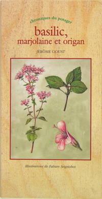 Basilic, marjolaine et origan