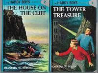 Hardy Boys Book Lot: The Tower Treasure, The House on the Cliff, The Secret of the Old Mill, The Missing Chums, & The Hidden Harbor Mystery
