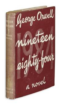Nineteen Eighty-Four (1984) by  George Orwell - 1st Edition - 1949 - from Quintessential Rare Books, LLC and Biblio.com