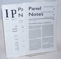Panel Notes: volunteer newsletter of the AIDS Legal Referral Panel, San Francisco Bay Area 12 issue broken run Spring 1993 - June 2000
