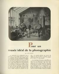 POUR UN MUSÉE IDÉAL DE LA PHOTOGRAPHIE