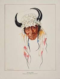 Buffalo Body: Wearing ceremonial Buffalo Horn head-dress