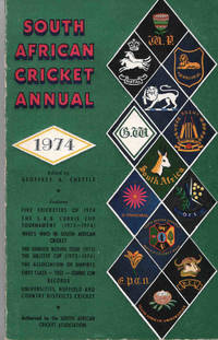 South African Cricket Annual 1974 (Volume 21)