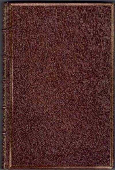 Brussels, Belgium: Paul Lacomblez, 1894. First edition. Hardcover. Very good. 251pp. Octavo . Brown ...