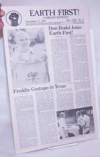 image of Earth First! Samhain Edition, The radical environmental journal; Nov 1, 1987 Vol. 8, No. 1