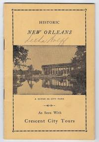 (New Orleans, LA): Crescent City Tours, 1948. First edition. 16mo. 20 pp. Illustrated from photograp...