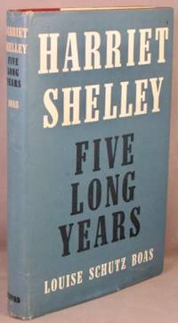 image of Harriet Shelley, Five Long Years.