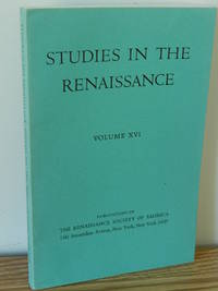 image of Studies in the Renaissance, Vol. 16