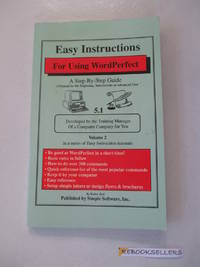 Easy Instructions for Using WordPerfect