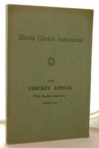 image of ILLINOIS CRICKET ANNUAL FOR 1940 (WITH RUGBY APPENDIX)
